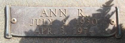 Ann R. Brooks