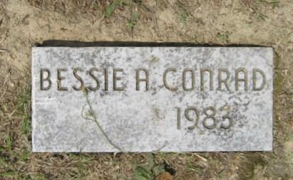 Bessie <i>Albert</i> Conrad
