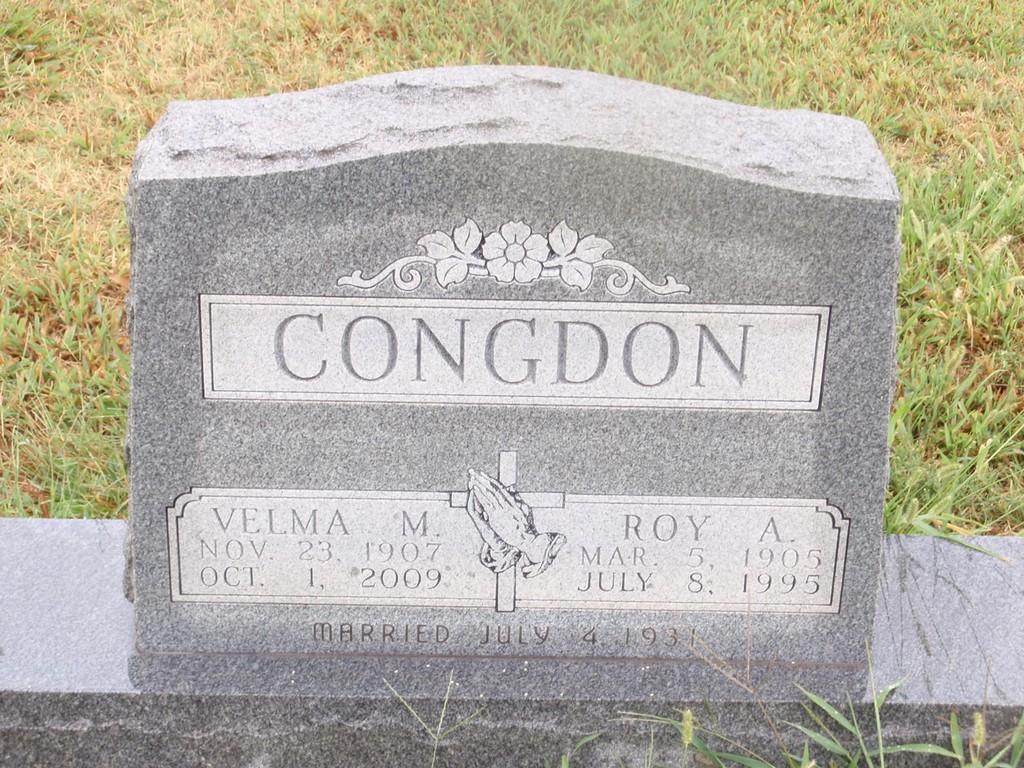 Velma Mae <i>LeForce</i> Congdon