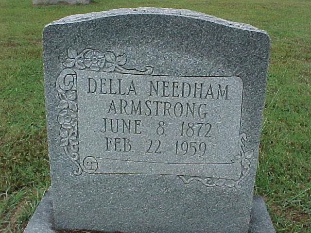 Della <i>Needham</i> Armstrong