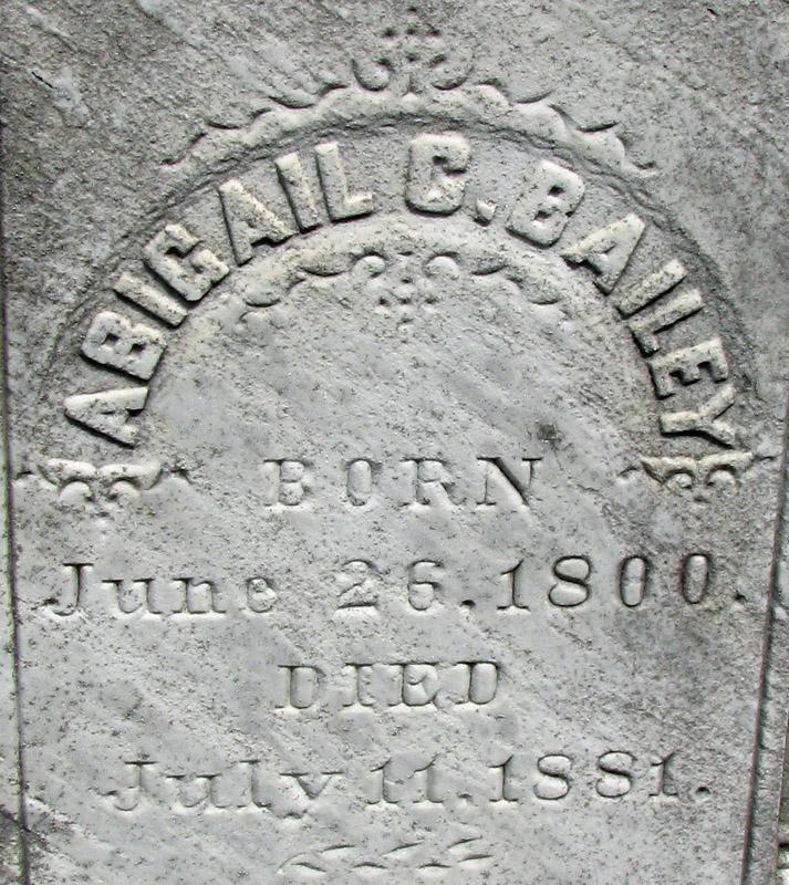 Abigail C. <i>Pendleton</i> Bailey