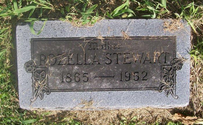 Rozella Rose <i>Jones</i> Stewart
