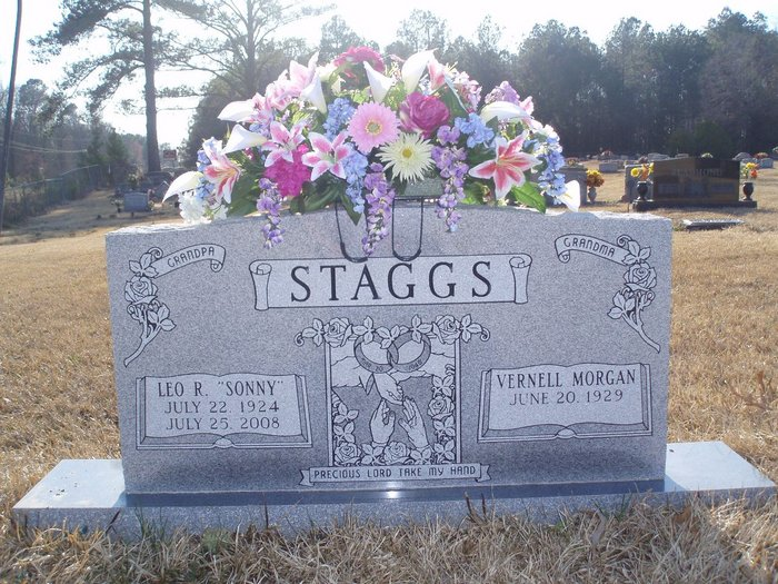 Mildred Vernell Nell <i>Morgan</i> Staggs