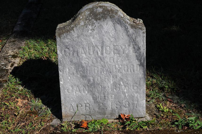 Chauncey E Bradford