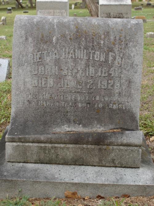 Marietta <i>Hamilton</i> Folts
