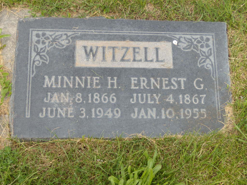 Minervia Minnie <i>Heywood</i> Witzell