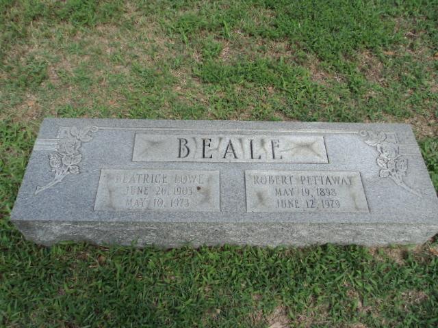 Beatrice <i>Lowe</i> Beale