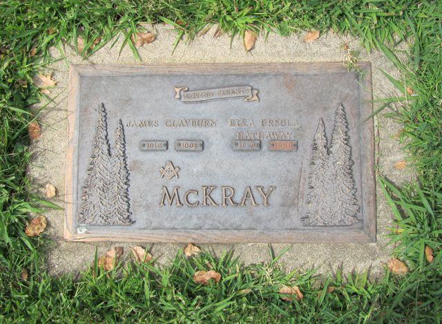Elza Ursula <i>Hathaway</i> McKray