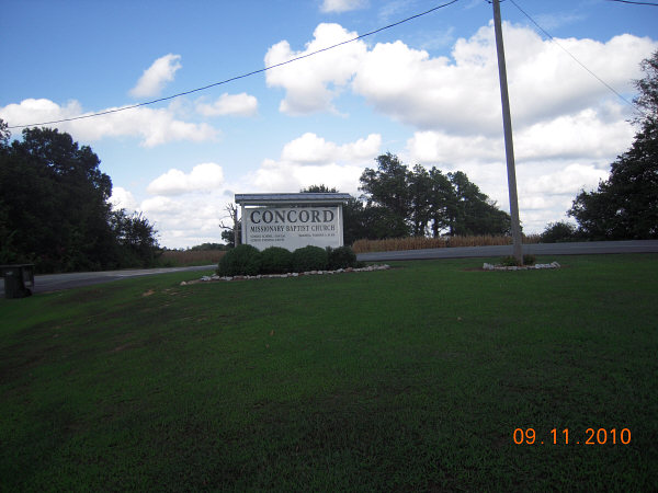 Concord Missionary Church Cemetery