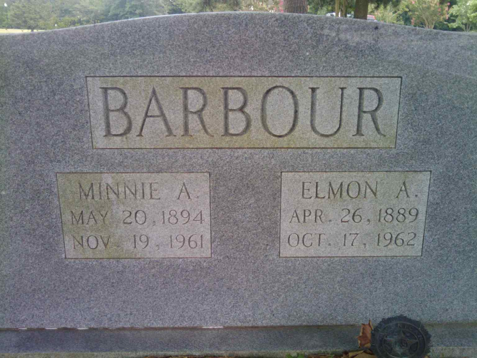 Minnie A. Barbour