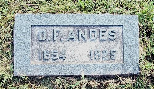 David Franklin Andes