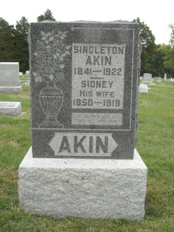 Singleton Lindsay Akin