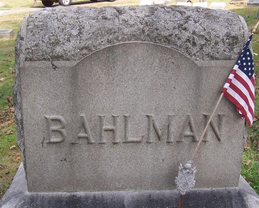 Anna S. <i>Heidrick</i> Bahlman