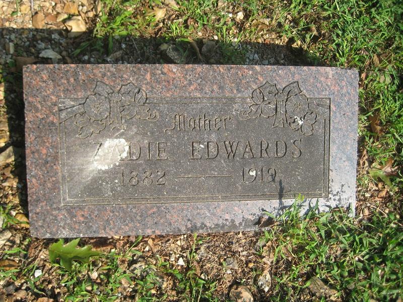Canzada Zadie <i>Jones</i> Edwards