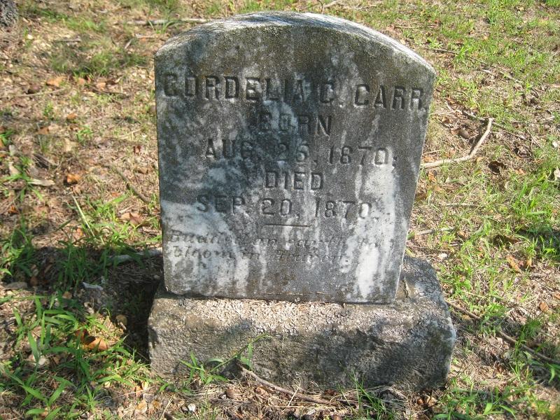 Cordelia Clementine Carr