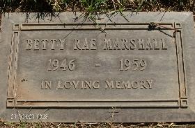Betty Rae Marshall