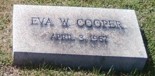 Eva W. <i>Messerschmitt</i> Cooper