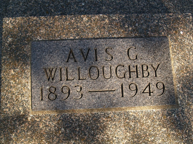 Avis M <i>Graham</i> Willoughby