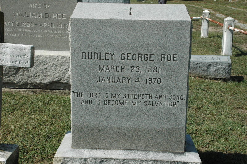 Dudley George Roe
