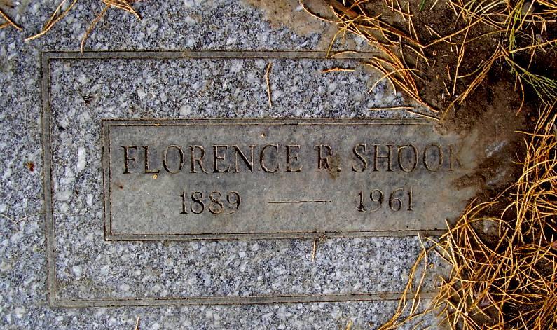 Florence M. <i>Rayson</i> Shook