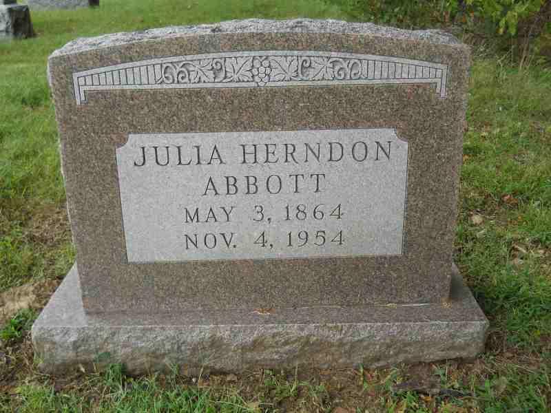 Julia <i>Herndon</i> Abbott