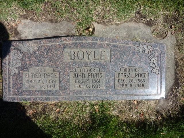 Mary Lucretia <i>Pace</i> Boyle