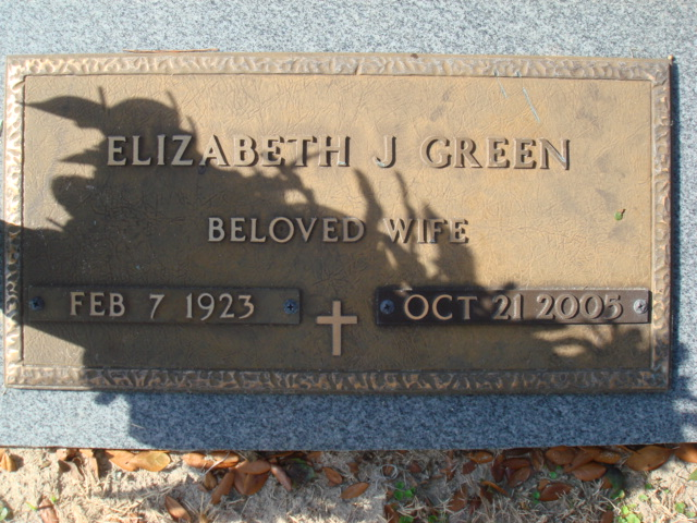 Elizabeth J Green
