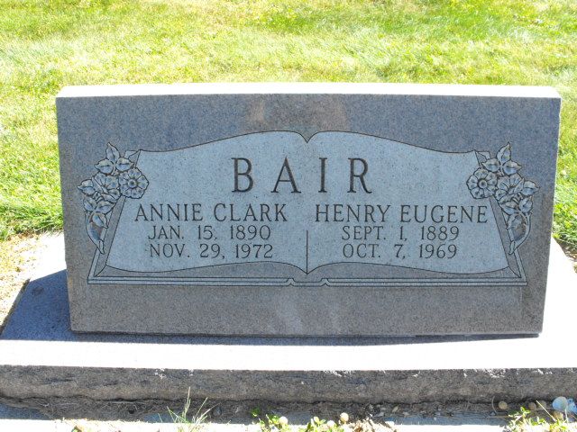 Annie <i>Clark</i> Bair