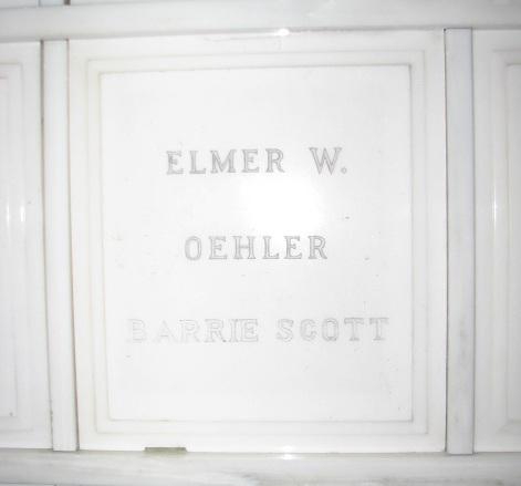 Barrie <i>Scott</i> Oehler