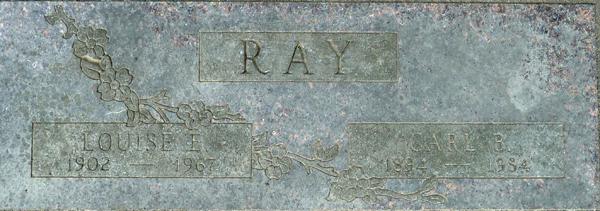 Louise E <i>Pate</i> Ray
