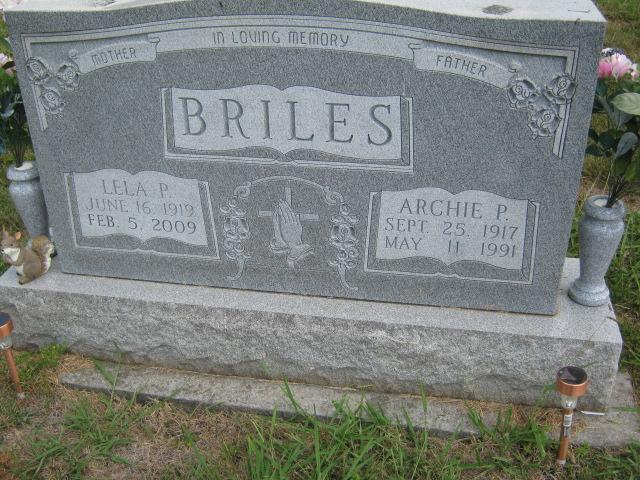 Lela <i>Parrish</i> Briles