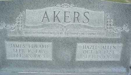 Hazel <i>Allen</i> Akers