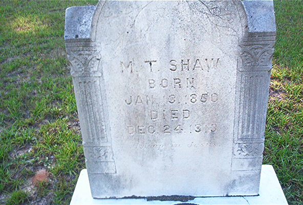 Matilda Tryphosia <i>Davis</i> Shaw