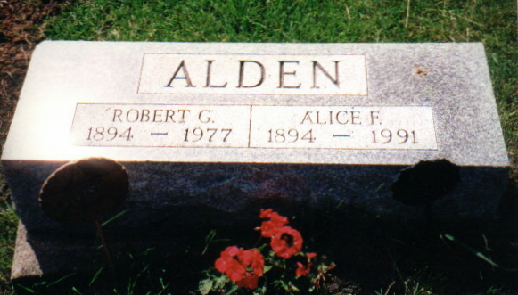 Alice O. <i>Fuhrmeister</i> Alden
