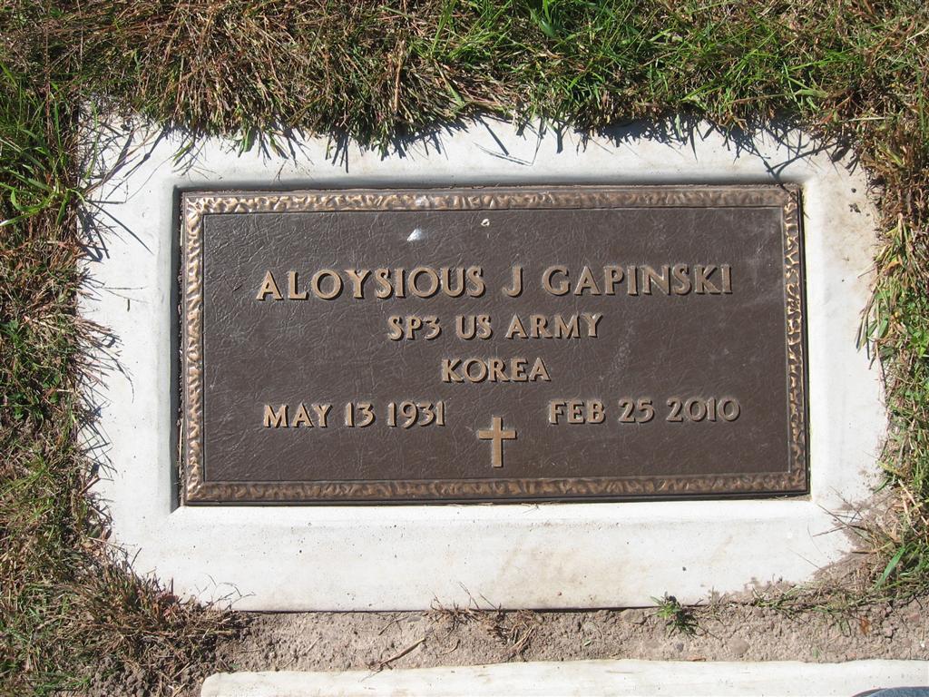 Aloysious John Gapinski