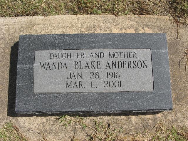Wanda Blake <i>Power</i> Anderson