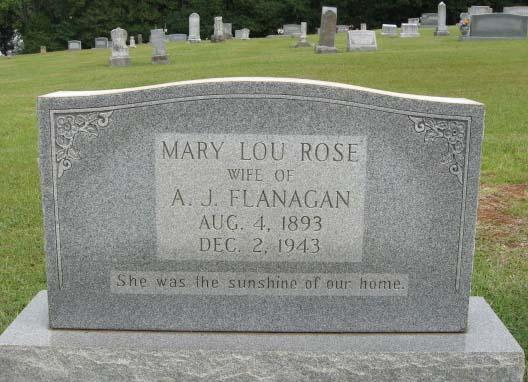 Mary Lou <i>Rose</i> Flanagan