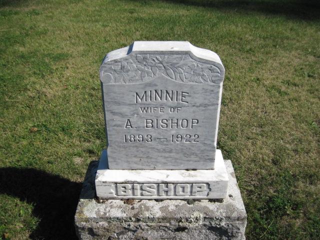 Minnie <i>Olson</i> Bishop