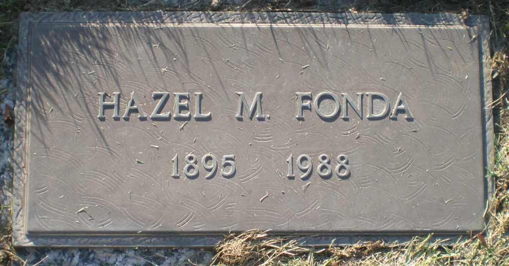 Hazel M Fonda