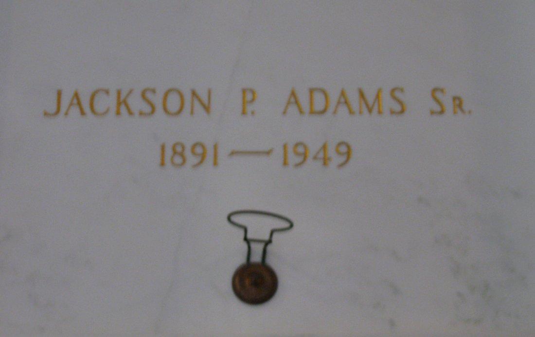 Jackson P Jack Adams, Sr