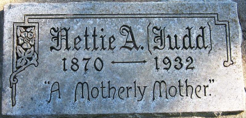 Nettie Adelaid <i>Judd</i> Bassett