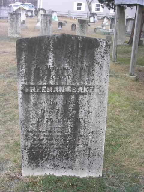 Capt Freeman Baker