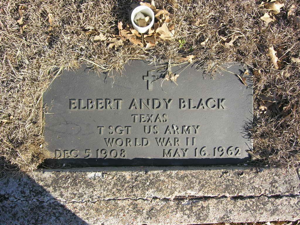 Elbert Andrew Black
