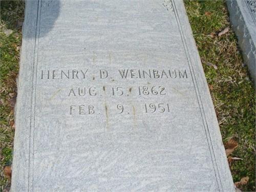 Henry Daniel Weinbaum