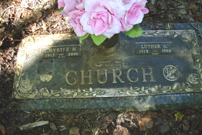 Myrtle <i>Hardin</i> Church