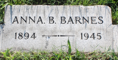 Anna B Barnes