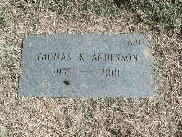 Thomas K Anderson