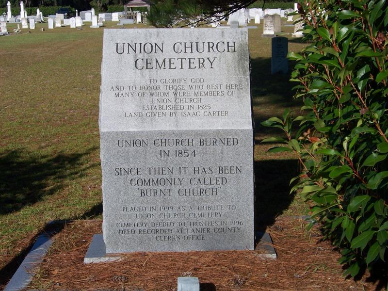 Union Primitive Baptist Church Cemetery