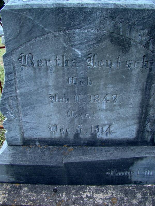 Bertha <i>Foerester</i> Jentsch