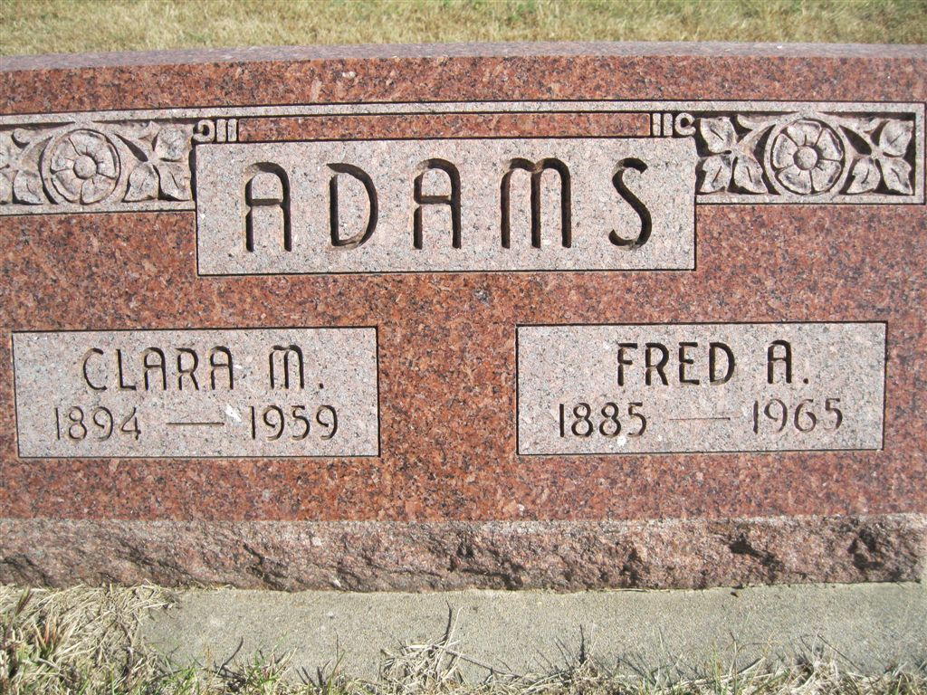 Fred Allen Adams